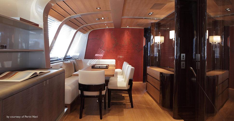 Photo of Seahawk interior