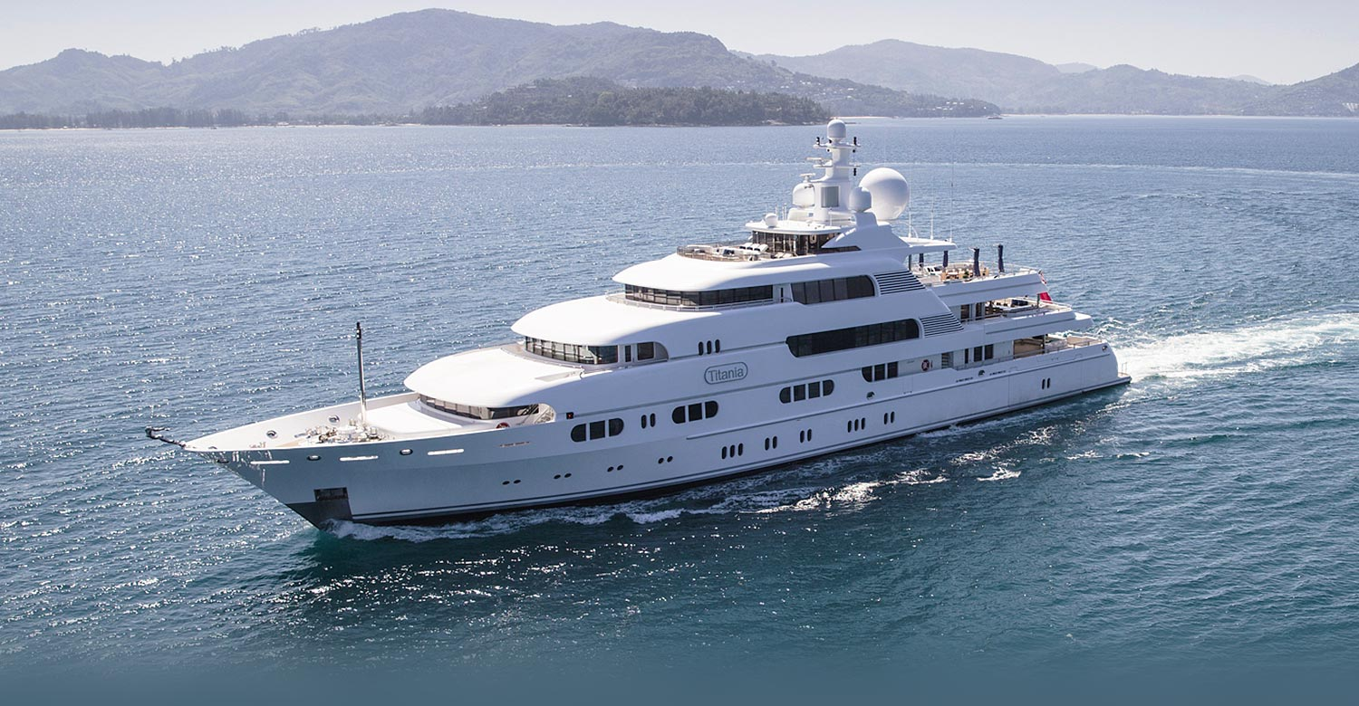 Photo of TITANIA for Charter